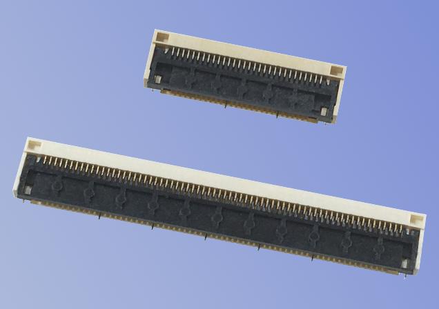 照片: 0.5mm间距 FPC/FFC连接器